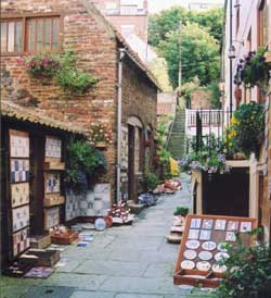 View of Wash House Pottery